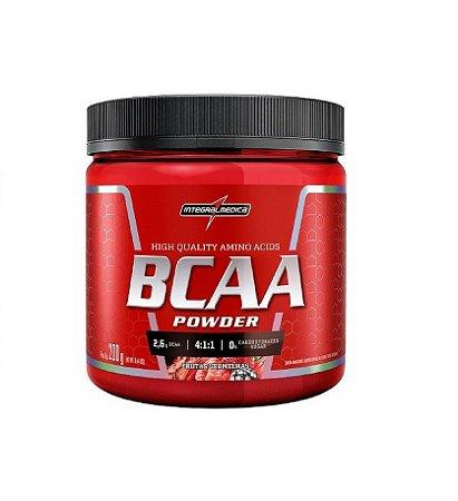 BCAA Powder Sabor Frutas Vermelhas 200g INTEGRALMEDICA