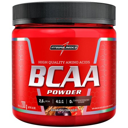 BCAA Powder Sabor Guaraná/Açaí 200g INTEGRALMEDICA