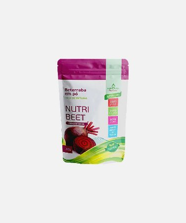 Farinha de Beterraba Nutri Beet 200g  Herbal Nature
