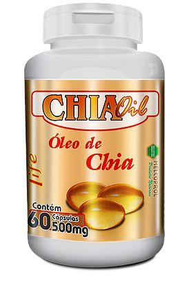 óleo de chia em capsulas