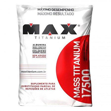 Massa 17500 - Hipercalórico - 1,4kg - Max Titanium vitamina de frutas