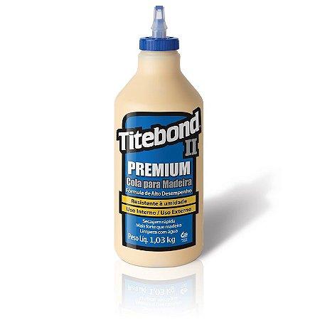 Cola Titebond II Premium 1K - Cola  para Madeira Titebond