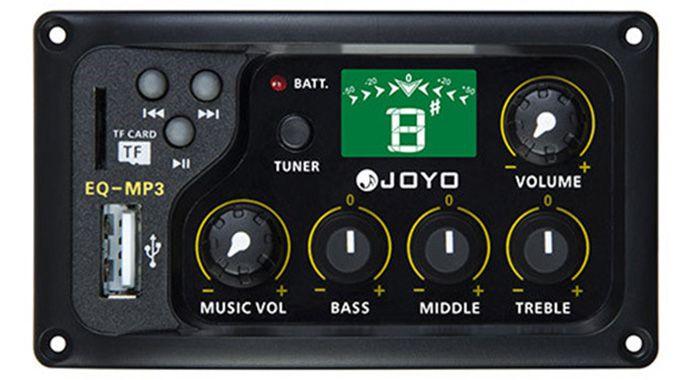 Captador e Equalizador 4 Bandas Para Violão Nylon ou Aço - EQ-MP3