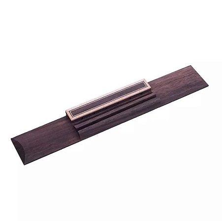 Cavalete Rosewood De Jacarandá Para Violão Clássico 6 Cordas