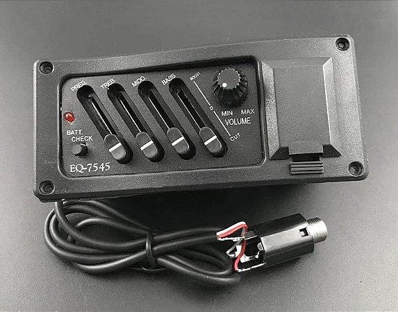 Equalizador e Captador para Violão - EQ7545