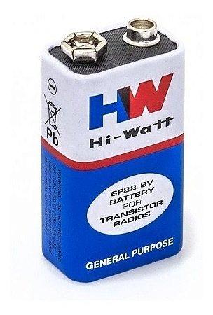 Bateria 9v HW - Unidade