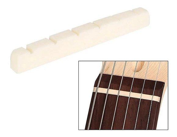 Nut Pestana Osso Moldada Guitarra 43mm