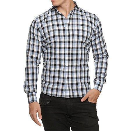 010dc95c62833 Camisa Quadriculada Ligth Slim Fit - ref11 - Site Oficial da ...