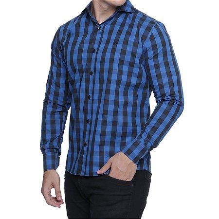 2bdec845d52bb Camisa Quadriculada Classics Slim Fit - ref11- - Site Oficial da ...