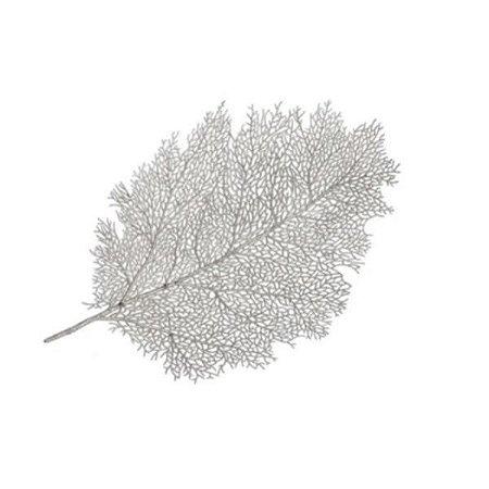 Lugar Americano Leaf Prata 57cm - Mimo Style