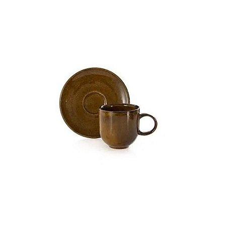 Xícara de Café Coup Stoneware Ambar