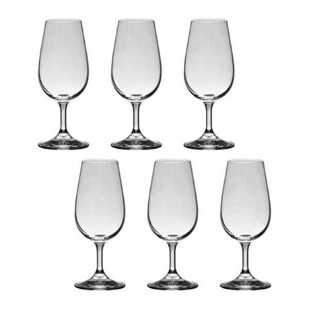 Conjunto com 6 Taças para Degustação em Cristal Gastro Colibri 210ml