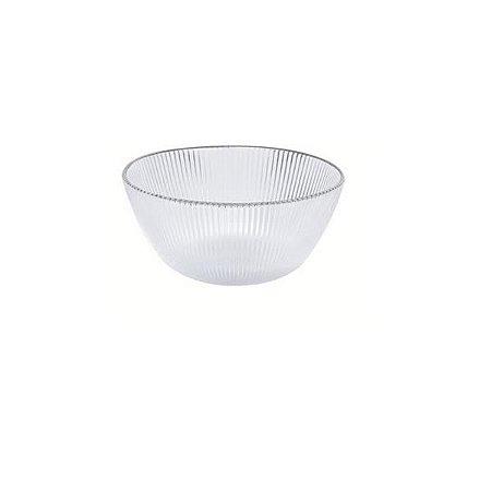 Bowl Luce com Borda Prata 16cm