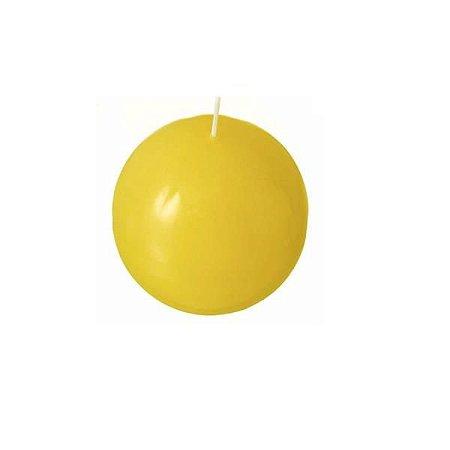 Vela Italiana Esfera 100MM Amarela