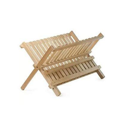Escorredor de Pratos de Bambu Ecokitchen