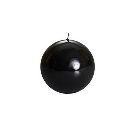 Vela Italiana Esfera 100MM Preta