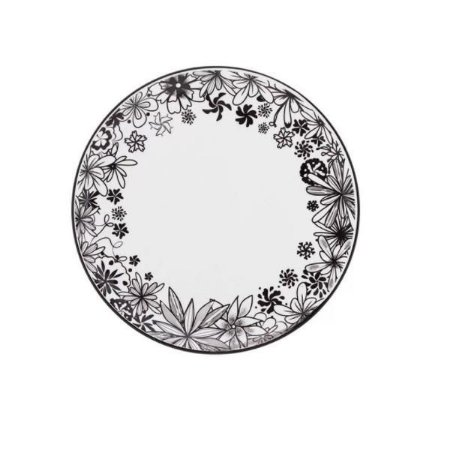 Prato Raso de Porcelana Floresta Negra