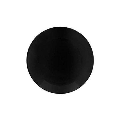 Prato Fundo de Porcelana Black