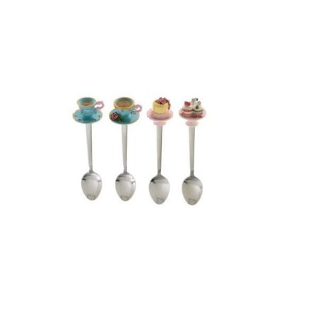 Kit com 4 Colheres Cute Cups