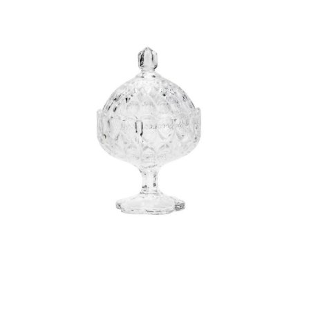 Bomboniere de Cristal com Pé Angélica 10,5 CM