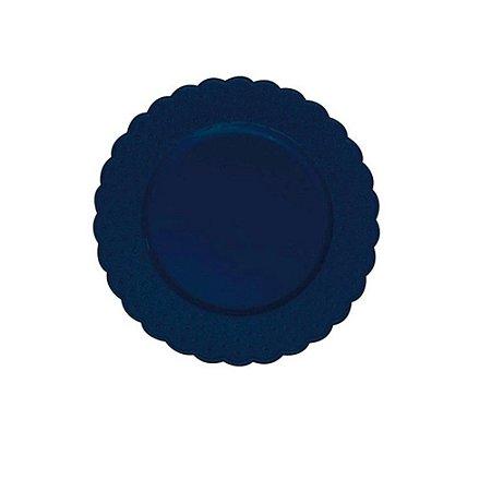 Sousplat Floral Azul