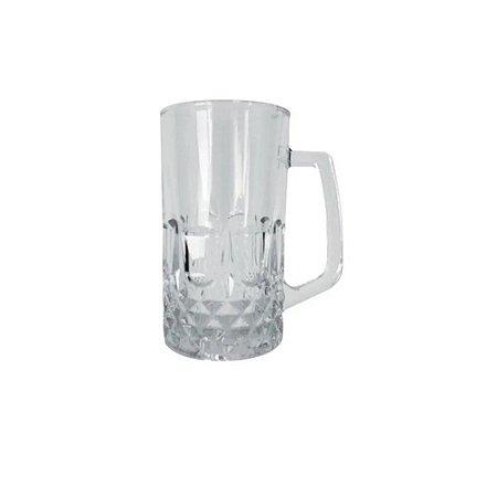 Caneca de Vidro para Chopp e Cerveja 500ml