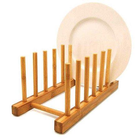 Suporte de bambu para 6 pratos - YOI