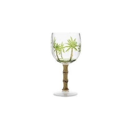 Taça de acrílico palm tree 495ml