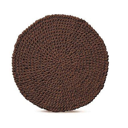 Lugar americano papier chocolate