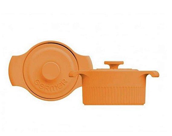 Mini Panelinha Cocotte Porcelana Amarelo - Germer