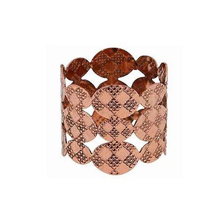 Anel de guardanapo Japão bronze - Mimo Style