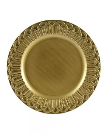 Sousplat Arcos Dourado - Mimo Style