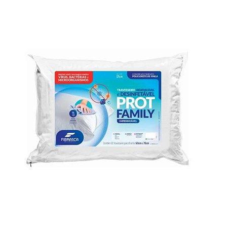 Travesseiro Protege Family -Fibrasca