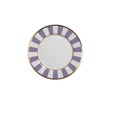 Prato Sobremesa Lavender Strip - Alleanza