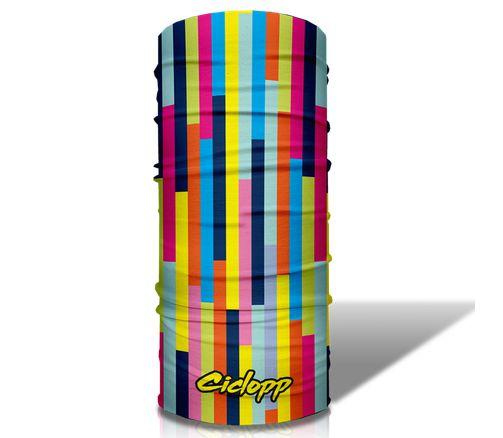 Bandana Lenço Ciclismo Mtb Ciclopp Art Colorida
