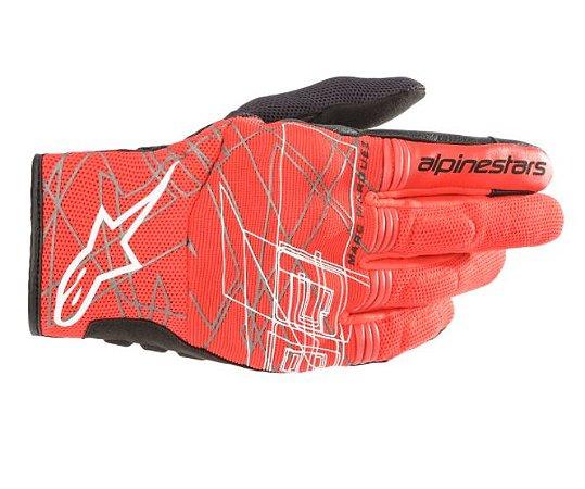 Luva Alpinestars MM93 Losail V2 Vermelho Preto