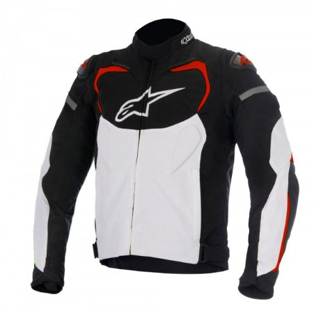 Jaqueta Alpinestars T-gp Pro preta branca vermelha