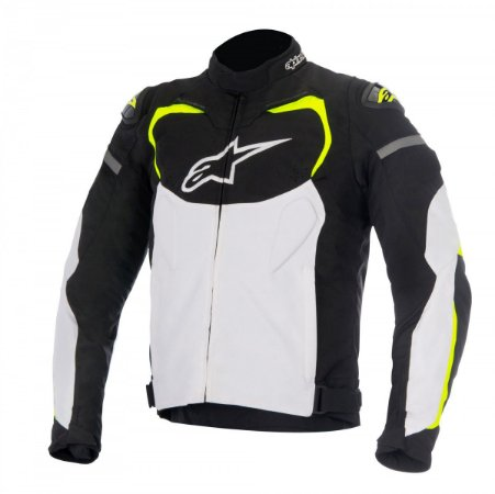 Jaqueta Alpinestars T-gp Pro Preta Branca Amarela