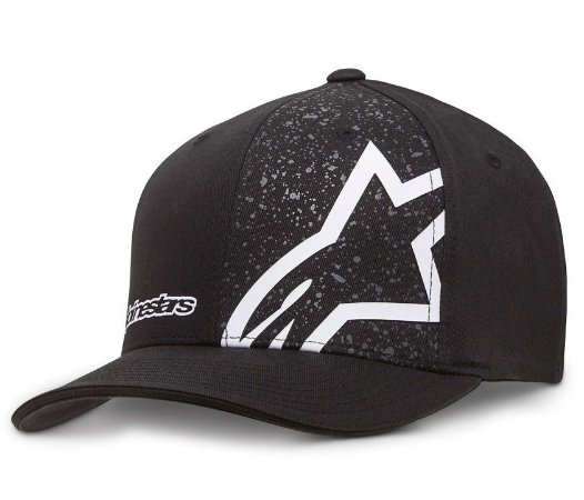 Boné Alpinestars Percent Black Original Flex Fit