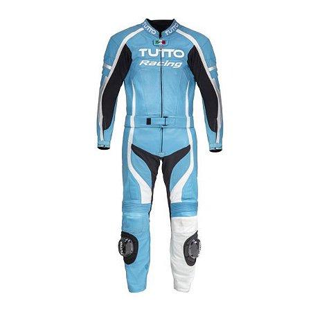 Macacão Tutto Racing 2 peças Soft - Azul Claro
