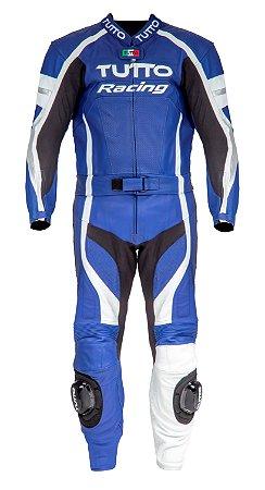 Macacão Tutto Racing 2 peças Yama - Azul