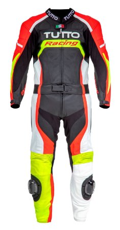 Macacão Tutto Racing 2 peças Led - Fluor