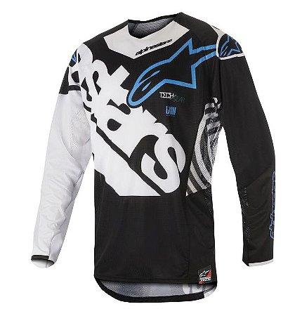 Camisa Cross Motocross Alpinestars Techstar Venon 2018 Prt