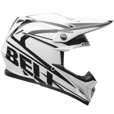 Capacete Bell Motocross Moto 9 Tracker Black Tricomposto
