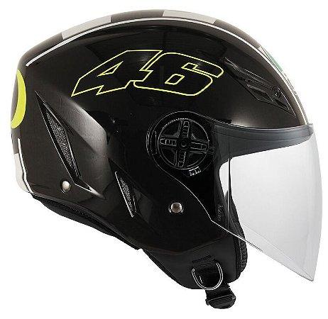 Capacete Agv Blade Celebr 8 - Black (Valentino Rossi)