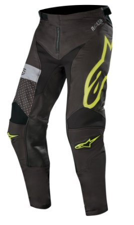 Calça Cross Alpinestars Tech Atomic 2019 Preto Amarelo Fluor