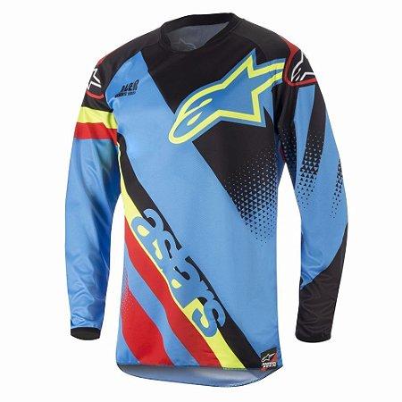 Camisa Cross Motocross Alpinestars Racer Supermatic 2018 Azl