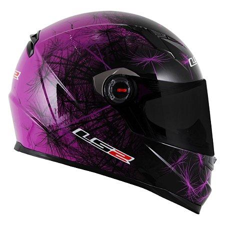Capacete LS2 FF358 Breeze - Roxo/Preto