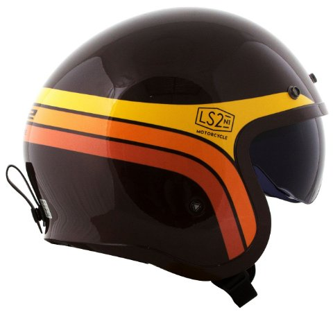 Capacete Ls2 Spitfire OF599 Sunrise Brown
