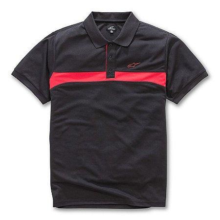 Camisa Alpinestars Polo Victory Preta